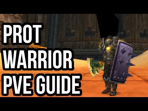 Quick Protection Warrior PvE Guide (2.4.3) [WoW TBC]