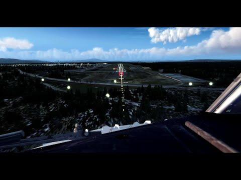 Prepar3D PMDG 737-800 landing Gardermoen (ENGM)