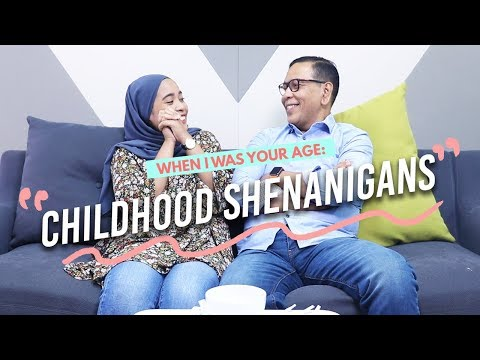 Father And Daughter Discuss How They Had Fun As Kids | When I Was Your Age Ep 5