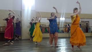 Уроки индийского танца 2 часть
