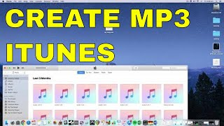 How to Convert WAV to Mp3 on iTunes 2018