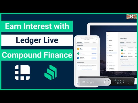 Earn Crypto Interest with Ledger Live & Compound Finance