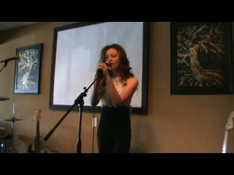 Carrie Underwood's - Temporary Home by 13 year-old  Mackenzie Morgan LIVE