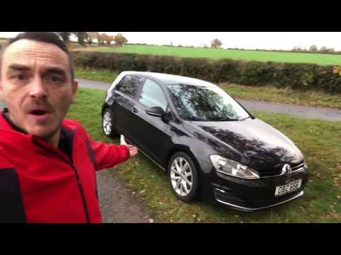 Volkswagen Discover navigation system in a Golf Mk7