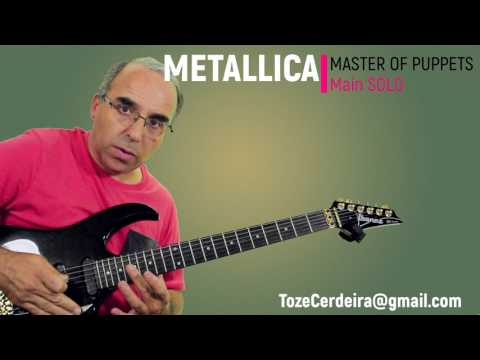 Master of Puppets - Metallica (Solo)