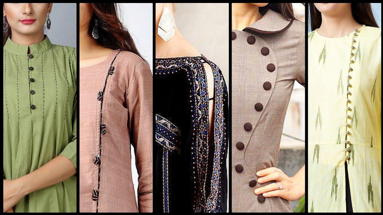 Download Elegant and stylish women's shirts neck designs neckline ladies neckline designs