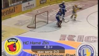 Semifinále 2004 Zlín vs Plzeň