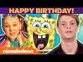 Happy Birthday, SpongeBob! 🎉 Jonas Brothers, Jace Norman & More CELEBrate! | #TBT