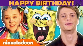 Happy Birthday, SpongeBob! 🎉 Jonas Brothers, Jace Norman & More CELEBrate! | #TBT
