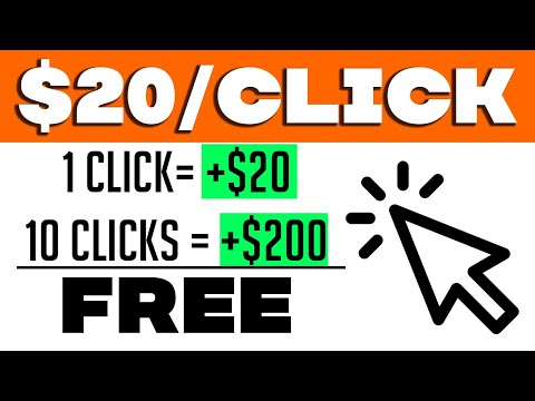 Earn $20 PER CLICK YOU MAKE (Working ✅) | Make Money Online 2021