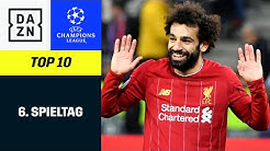 Top 10 Tore 6. Spieltag | UEFA Champions League | DAZN Highlights