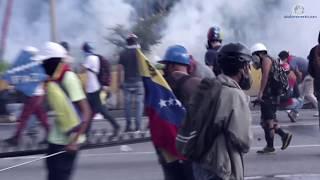 GNB Asesina a David Vallenilla tras disparar a quemarropa en el distribuidor Altamira