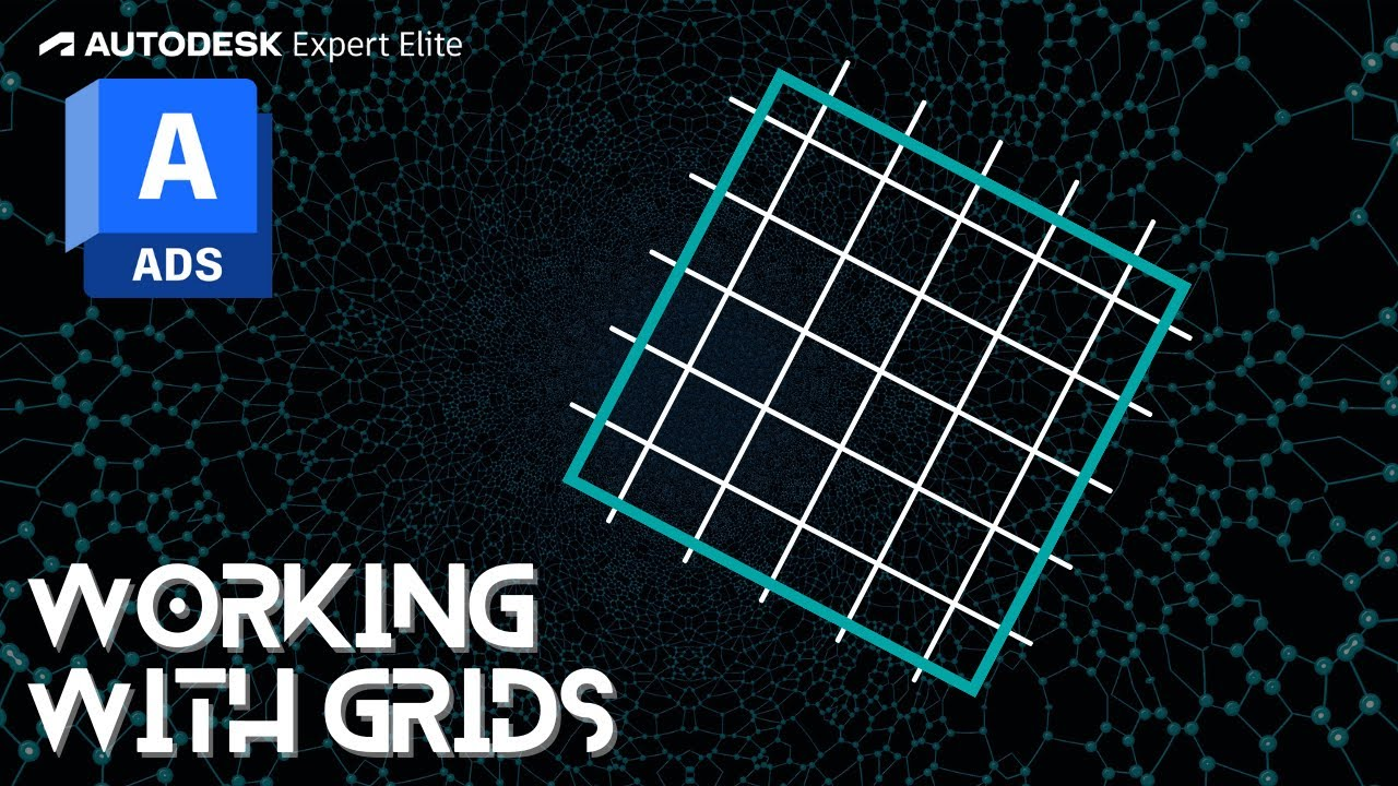 Advance Steel 2019 Tutorial Series - Working with Grids