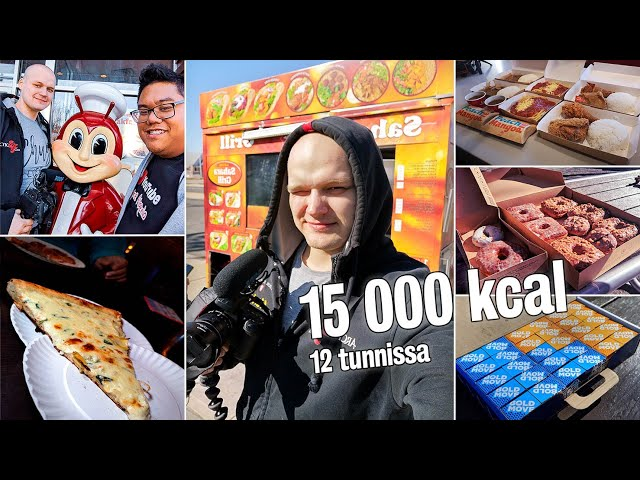 Kalorihaaste New Yorkissa (+15 000kcal)