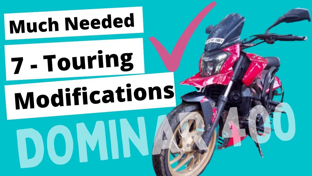 Best Modification on Dominar 400 & 250 | Story on Wheels #marathivlog #dominar400