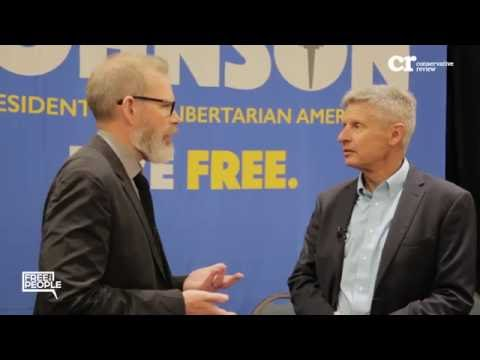 Gary Johnson Full Interview
