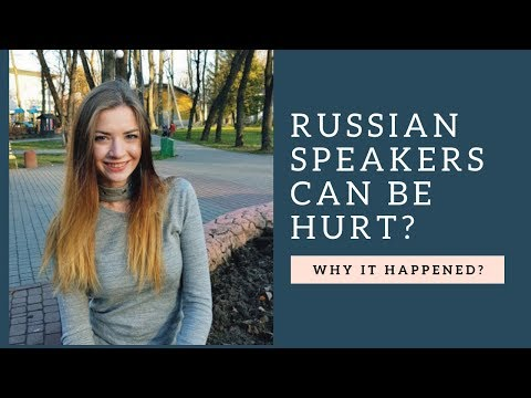 Why It's Not Recommended To Speak Russian On West Ukraine?