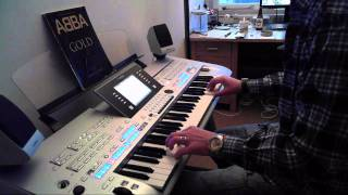 ABBA I Have A Dream Performed On Yamaha Tyros 4 Klaus Wunderlich STyle