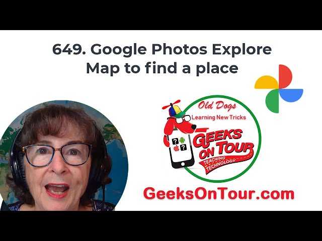 Google Photos Map Feature Tutorial Video 649