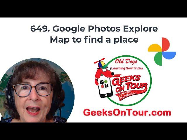 Google Photos Map Feature Tutorial Video 649