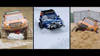 Ultimate Traction in Mud, Snow, and Sand | TRX-4 Traxx Deep-Terrain Treads