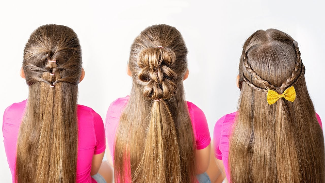 3 5 minute little girl hairstyles