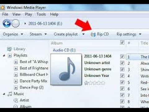How to copy music file cda from CD to mp3 file into computer [New 2016]