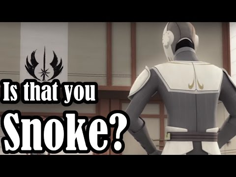 Is This Character really Supreme Leader Snoke?