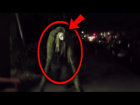 Top 5 Scariest Things CAUGHT ON SURVEILLANCE FOOTAGE!