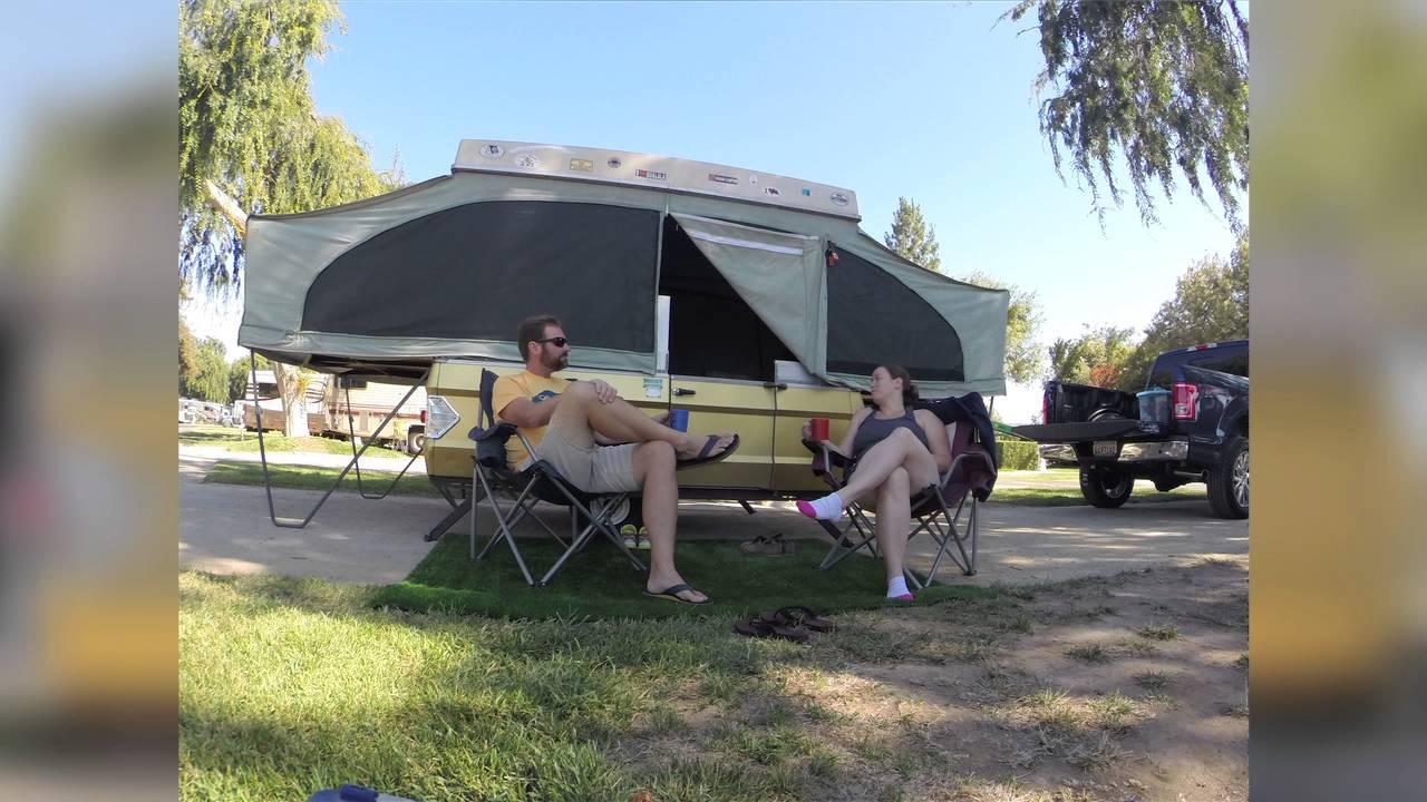 youtube how to set up eagle camper trailer