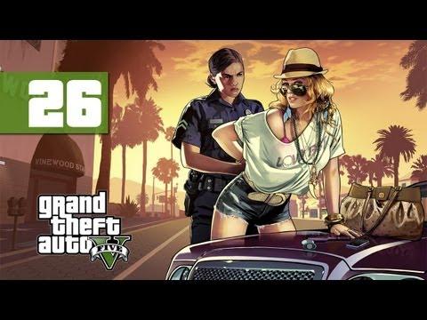 Grand Theft Auto 5 - Walkthrough - Part 26 - Clothes For The Course