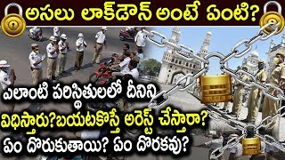 what is Lock-down | What You Can Do andamp; What You Canand#39;t During Lock-down | C-19 Latest Updates