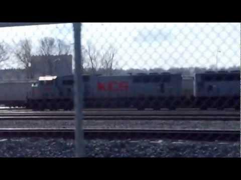 Railfanning: Kansas City Southern's Knoche Yard
