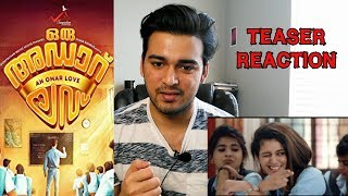 Oru Adaar Love Teaser Reaction   Priya Prakash Varrier, Roshan Abdul