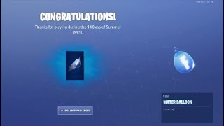 Fortnite 14 Days Of Summer Day 3 Challenges and Rewards