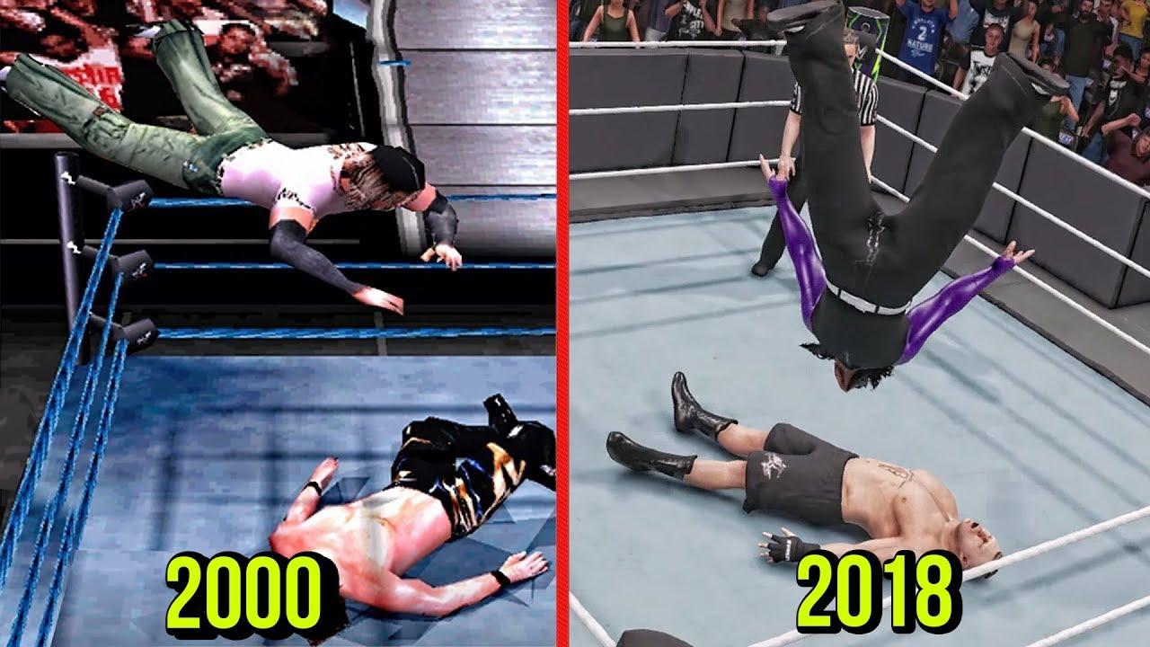 Jeff Hardy 2008 w/ No More Words | WWE 2K19 PC Mods
