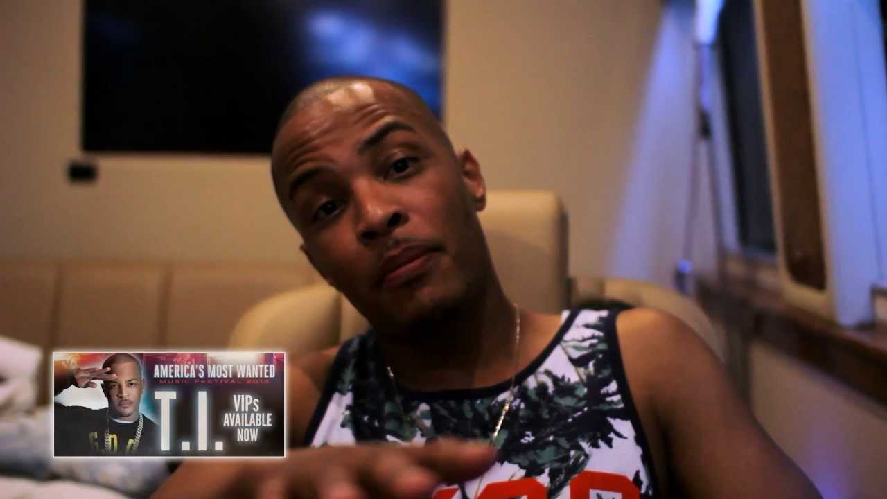 T.I. America's Most Wanted Tour VIP pass