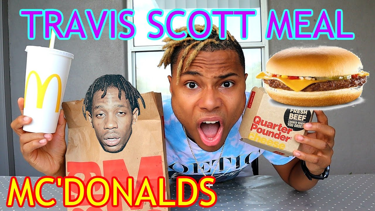 I TRIED THE TRAVIS SCOTT MEAL AT MC'DONALDS