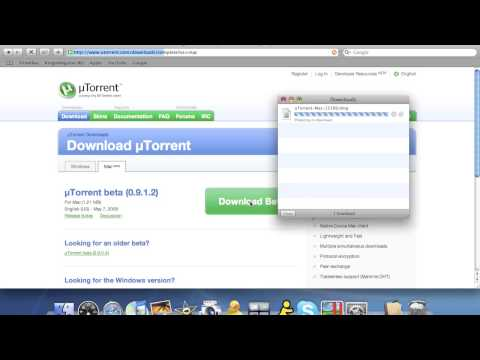 How to download and install uTorrent on a Mac