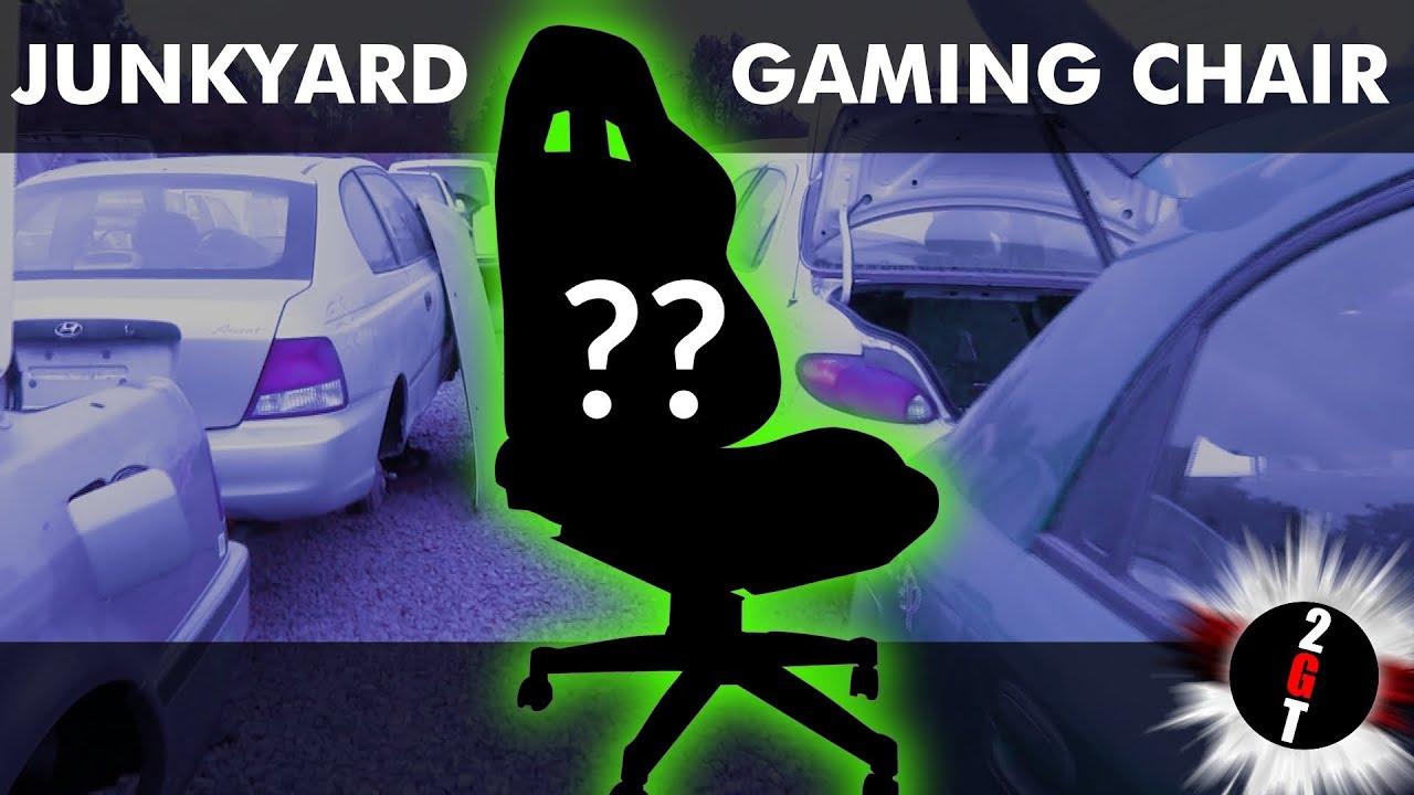 DIY Gaming Chair - We built our own junkyard computer chair!