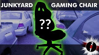 DIY Gaming Chair - We built our own junkyard computer chair!