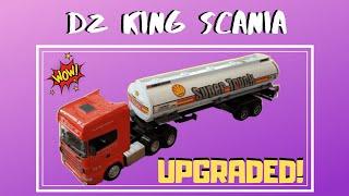 Tutorial rc gx truck dz king scania jadikan lori balak drc toys