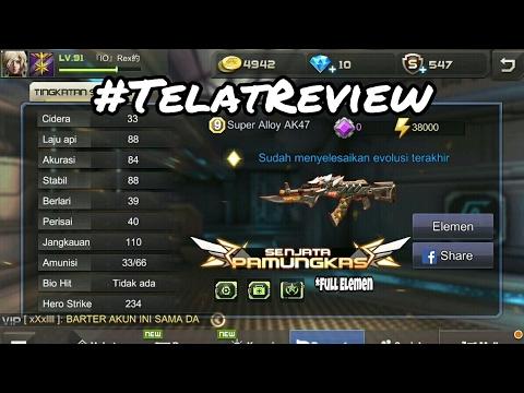 Review Senjata Event (Super Alloy AK47) - Crisis Action Indonesia