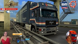 "Euro Truck Simulator 2 (1.39)   MAN F2000 Commander v6.0 by Nikola Trucks Delivery to Amsterdam Holland Schmitz Trailer EVR Engine Sound Animated gates in companies v3.7 [Schumi] Real Company Logo v1.0 [Schumi] Company addon v1.9 [Schumi] Trailers and Cargo Pack by Jazzycat Motorcycle Traffic Pack by Jazzycat FMOD ON and Open Windows Naturalux Graphics and Weather Spring Graphics/Weather v3.6 (1.38) by Grimes Test Gameplay ITA Europe Reskin v1.0 + DLC's & Mods So, before you is the new version 6.0. founded 25.01.2021. What's new:: - new AO baking interior/exterior model, - the big skin pack of real companies from our art designer (Igor Gereng), - and totally new animation. - added new Krone & Pacton old-school custom trailers; - added full new real recorded FMOD sound by Bimo Saputro; https://gumroad.com/nikola1973?sort=page_layout#ilnQZ  For Donation and Support my Channel https://paypal.me/isabellavanelli?loc...  SCS Software News Iberian Peninsula Spain and Portugal Map DLC Planner...2020 https://www.youtube.com/watch?v=NtKeP... Euro Truck Simulator 2 Iveco S-Way 2020 https://www.youtube.com/watch?v=980Xd... Euro Truck Simulator 2 MAN TGX 2020 v0.5 by HBB Store https://www.youtube.com/watch?v=HTd79...  All my mods I use in the video Promods map v2.51 https://www.promods.net/setup.php Traffic mods by Jazzycat https://sharemods.com/hh8z6h9ym82b/pa... https://sharemods.com/lpqs4mjuw3h6/ai... https://ets2.lt/en/painted-bdf-traffi... https://sharemods.com/eehcavh87tz9/bu... Graphics mods https://download.nlmod.net/ https://grimesmods.wordpress.com/2017... Europe Reskin https://forum.scssoft.com/viewtopic.p... Trailers pack https://ets2.lt/en/trailers-and-cargo... https://tzexpress.cz/ Others mods Company addon v1.8 [Schumi] https://forum.scssoft.com/viewtopic.p... Real Company Logo v1.3 [Schumi] https://forum.scssoft.com/viewtopic.p... Animated gates in companies v3.8 [Schumi https://forum.scssoft.com/viewtopic.p...  #TruckAtHome #covid19italia Euro Truck Simulator 2    Road to the Black Sea (DLC)    Beyond the Baltic Sea (DLC)   Vive la France (DLC)    Scandinavia (DLC)    Bella Italia (DLC)   Special Transport (DLC)   Cargo Bundle (DLC)   Vive la France (DLC)    Bella Italia (DLC)    Baltic Sea (DLC) Iberia (DLC)   American Truck Simulator New Mexico (DLC) Oregon (DLC) Washington (DLC) Utah (DLC) Idaho (DLC) Colorado (DLC)  My favorite Youtubers Neranjana Wijesinghe https://www.youtube.com/c/NeranjanaWi... H&AHoney Gaming BG https://www.youtube.com/c/HAHoneyGaming Fox On The Box https://www.youtube.com/c/FoxOnTheBox ZN GAMER https://www.youtube.com/channel/UCUSQ... Kapitan Kriechbaum https://www.youtube.com/channel/UCrEQ... Darwen https://www.youtube.com/channel/UCyK8... SimülasyonTÜRK https://www.youtube.com/user/simulasy... Squirrel https://www.youtube.com/user/DaSquirr... Toast https://www.youtube.com/channel/UCy2R... Jeff Favignano https://www.youtube.com/user/jfavignano     I love you my friends Sexy truck driver test and gameplay ITA  Support me please thanks Support me economically at the mail vanelli.isabella@gmail.com  Roadhunter Trailers Heavy Cargo  http://roadhunter-z3d.de.tl/ SCS Software Merchandise E-Shop https://eshop.scssoft.com/  Euro Truck Simulator 2 http://store.steampowered.com/app/227... SCS software blog  http://blog.scssoft.com/  Specifiche hardware del mio PC: Intel I5 6600k 3,5ghz Dissipatore Cooler Master RR-TX3E  32GB DDR4 Memoria Kingston hyperX Fury MSI GeForce GTX 1660 ARMOR OC 6GB GDDR5 Asus Maximus VIII Ranger Gaming Cooler master Gx750 SanDisk SSD PLUS 240GB  HDD WD Blue 3.5"" 64mb SATA III 1TB Corsair Mid Tower Atx Carbide Spec-03 Xbox 360 Controller Windows 10 pro 64bit"