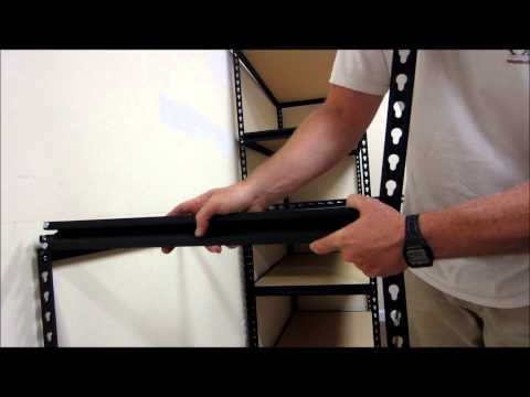 How To Assemble Edsel Steel Shelving / Edsal Racks