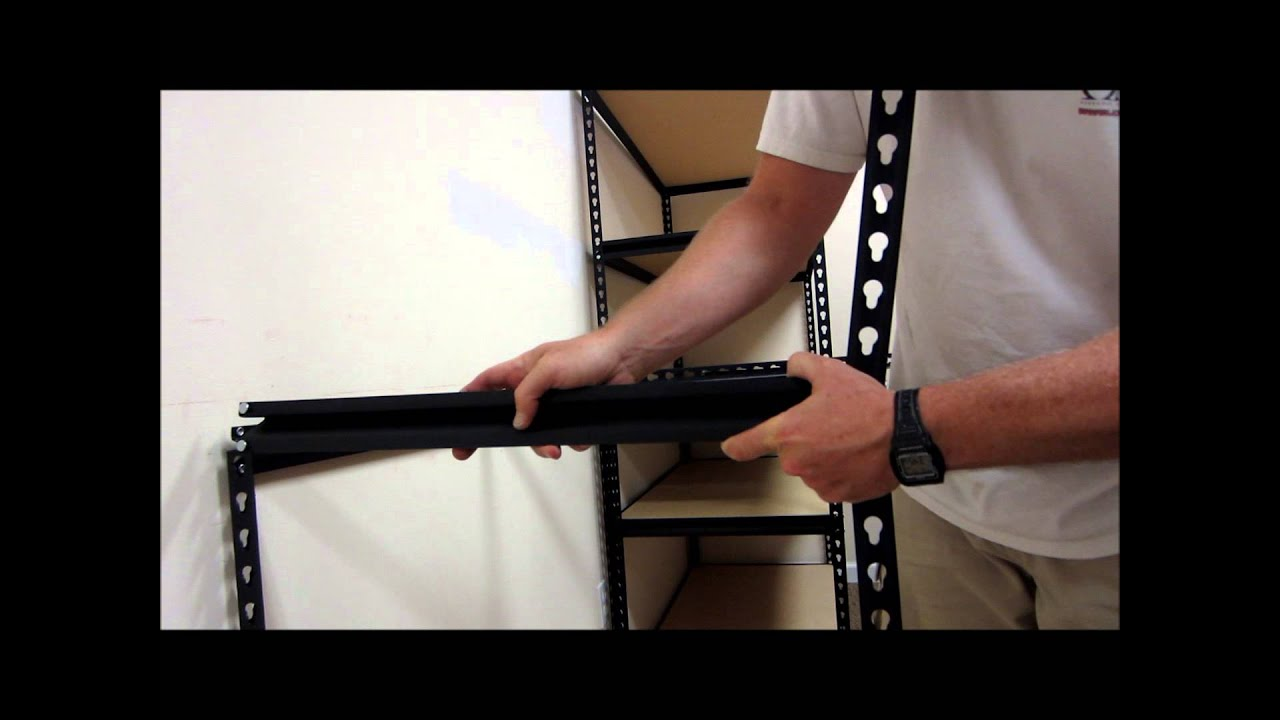 Edsal 5 shelf heavy duty steel shelving - Edsal 5 Shelf Heavy Duty Steel Shelving 41