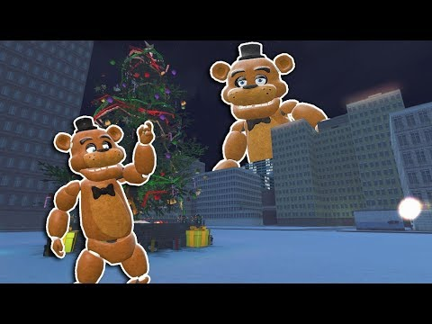 MONSTER FREDDY ATTACKS CITY IN GMOD! - Garry's Mod Gameplay - Multiplayer Fnaf Survival thumbnail