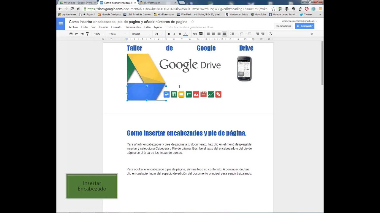 Como Decorar Imagen Con Word Taller De Google Drive 4 F