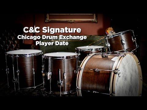 C&C Drum Co. Signature Chicago Drum Exchange Player Date Kit | Drum Demo