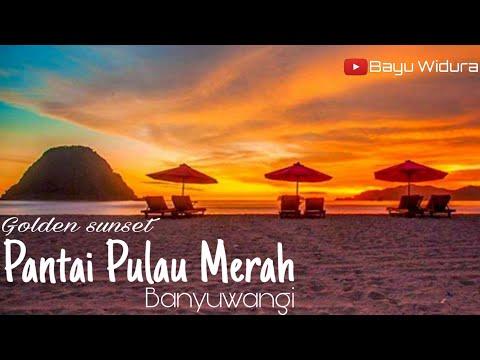 golden-sunset-di-pantai-pulau-merah-tujuan-wisata-baru-banyuwangi